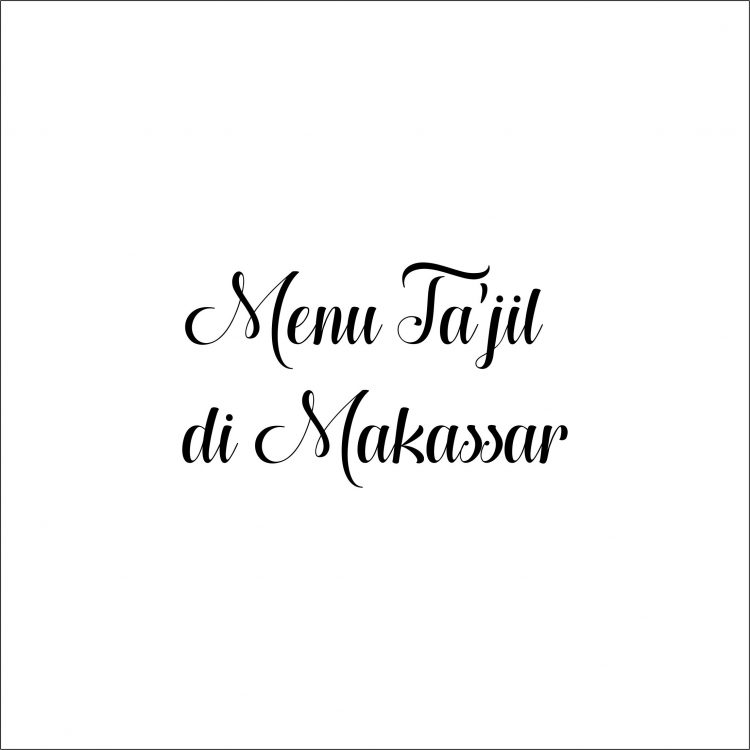 Ta'jil Makassar
