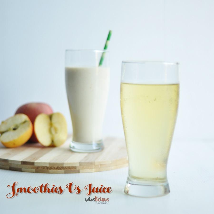 Smoothies vs juice